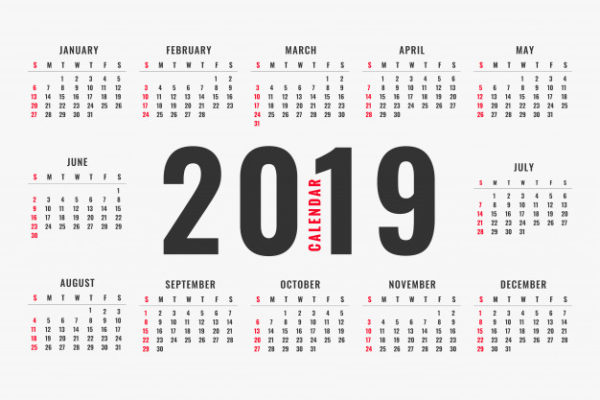 calendrier simple