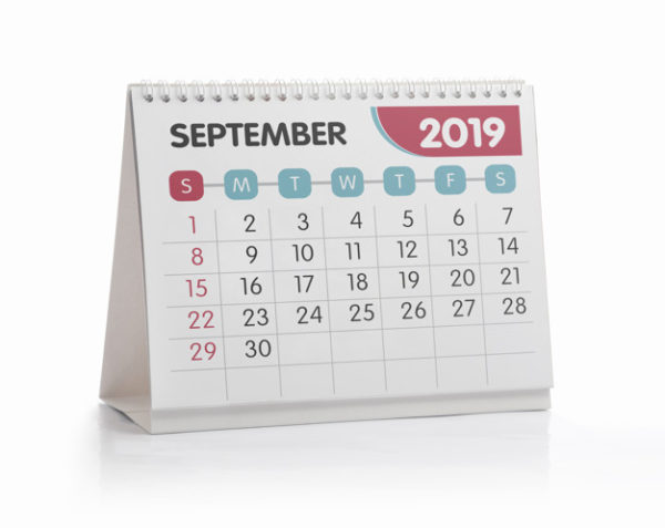 calendrier bureau